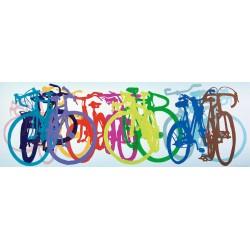 Biciclette - PUZZLE PANORAMICO
