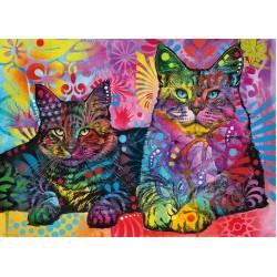 Due gatti dediti