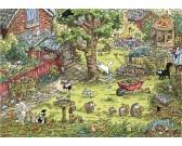 Avventura nel giardino - TRIANGULAR PUZZLE