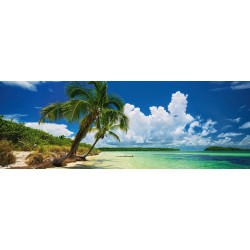 Spiaggia paradisiaca - PUZZLE PANORAMICO