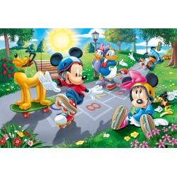 Mickey Mouse - campo da gioco - PUZZLE PER BAMBINI