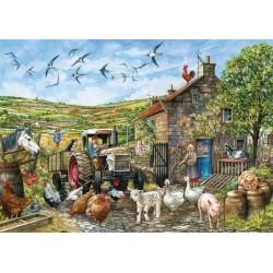 Giorno nella fattoria in Inghilterra