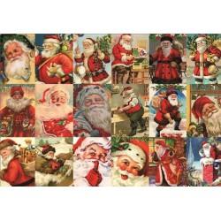 Santa Claus - collage