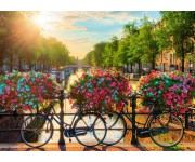 Sole sopra Amsterdam