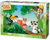 Animali sull'albero - PUZZLE PER BAMBINI