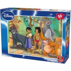 Mowgli con gli amici - PUZZLE PER BAMBINI