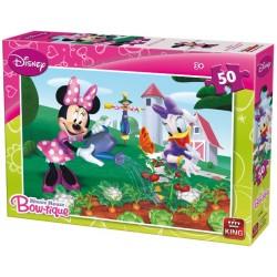 Minnie nel giardino - PUZZLE PER BAMBINI
