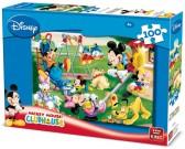 Mickey Mouse - sul campo - PUZZLE PER BAMBINI