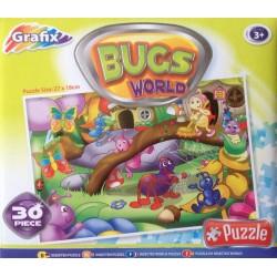 Mondo  di scarabei - PUZZLE PER BAMBINI