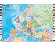 Mappa d'Europa politica