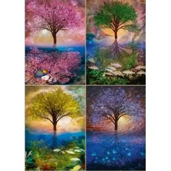 Albero - quattro stagioni