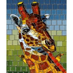 Mosaico - giraffa