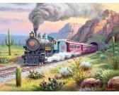 Treno nel deserto - XXL PUZZLE