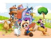 Mickey Mouse - fattoria - PUZZLE PER BAMBINI
