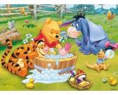 Winnie the Pooh - bagno - PUZZLE PER BAMBINI