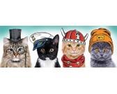 Quattro gatti - PUZZLE PANORAMICO