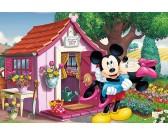 Mickey Mouse e Minnie - PUZZLE PER BAMBINI